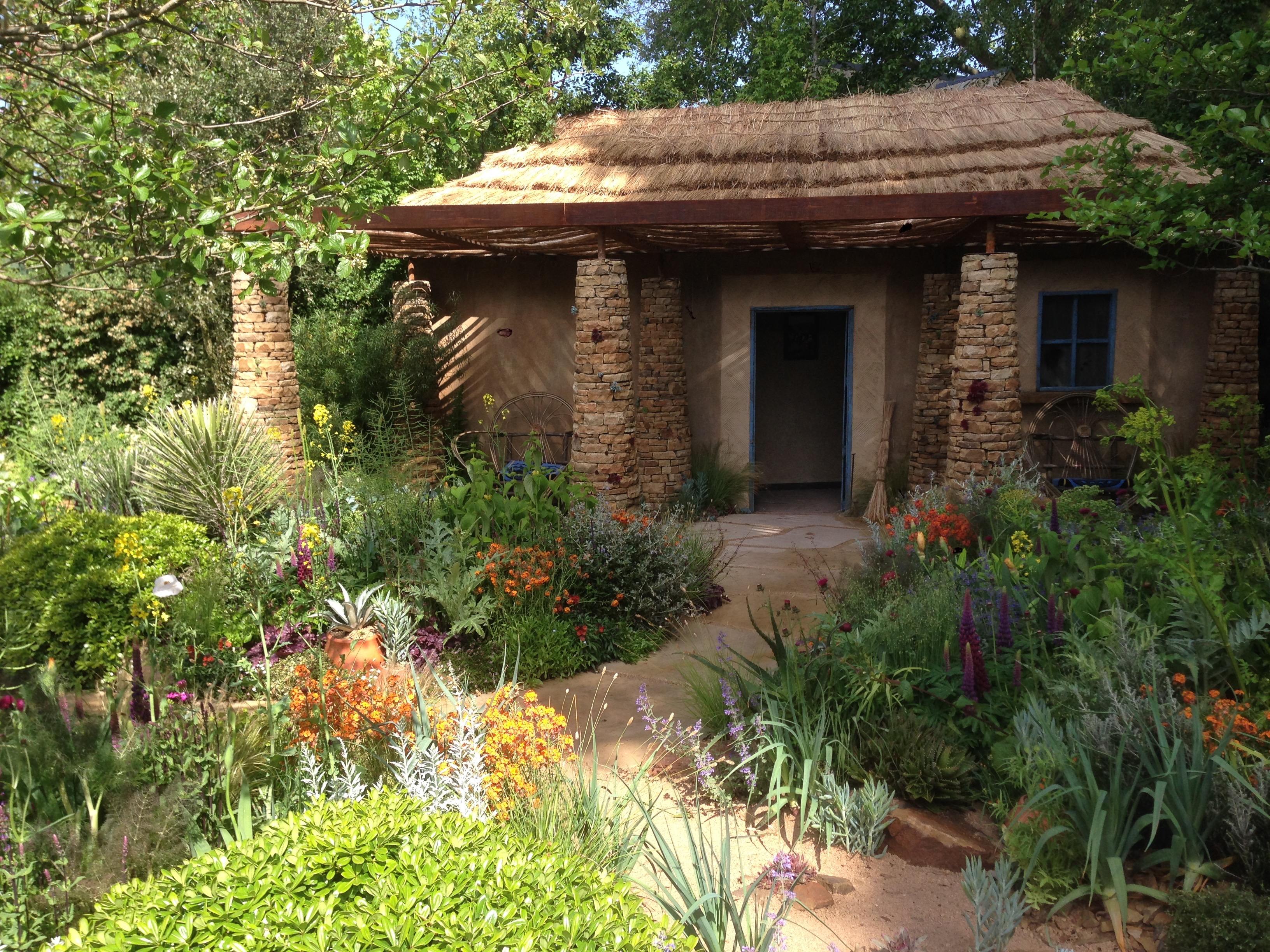 Deze heerlijke showtuin van Matthew Keightley kreeg de people's Choice Award: een tuin waar je je meteen in thuis voelt.